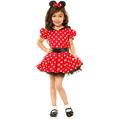 Red Miss Mouse Toddler Costume - Toddler