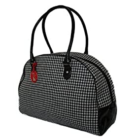 Red Tango Houndstooth Large Purse by Tokyo Bay - Ships in ''24'' hours!