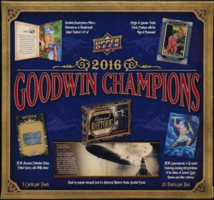 2016 Upper Deck Goodwin Champions HOBBY box (20 pk) (Champion Decks compare prices)