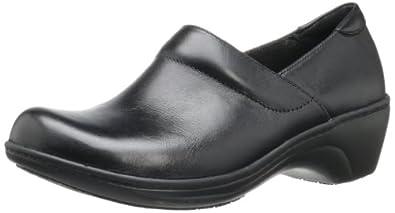 Clarks Women's Grasp Idea Loafer,Black,5 M US