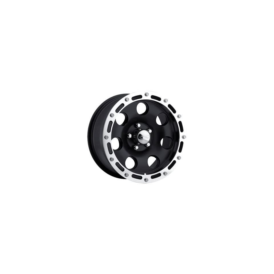 American Eagle 137 17 Black Wheel / Rim 8x6.5 with a  4mm Offset and a 130.18 Hub Bore. Partnumber 13788888