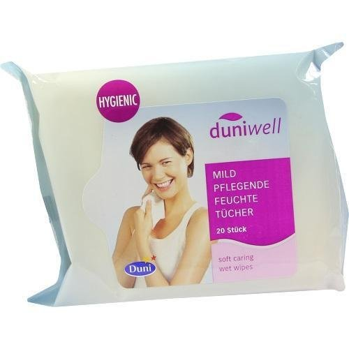 DUNIWELL feuchte Waschlappen 20 St by Duniwell