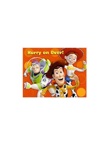 Toy Story 3 Invitations w/ Envelopes (8ct) - 1