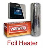 Warmup Foil Underfloor Heating Mat Kit C/W 3ie stat 8sqm