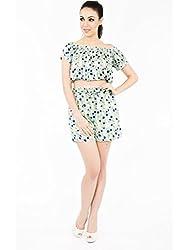 Stacy Dot Print Shorts