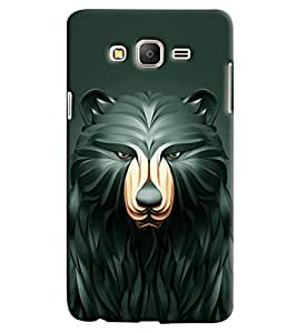Omnam Bear With Effect Printed Designer Back Cover Case For Samsung Galaxy On 7