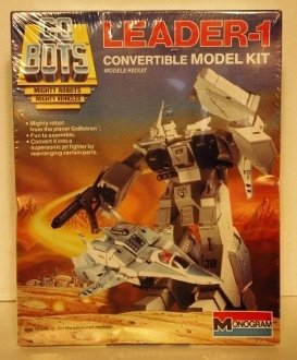 Go Bots Mighty Robots Mighty Vehicles Leader-1 Convertible Model Kit 1:48