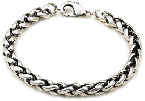 Kenneth Cole REACTION Men's Bracelet - Lon Chainy,Silver,One Size