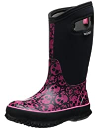 Bogs Classic Skulls Waterproof Winter and Rain Boot (Infant/Toddler/Little Kid/Big Kid)