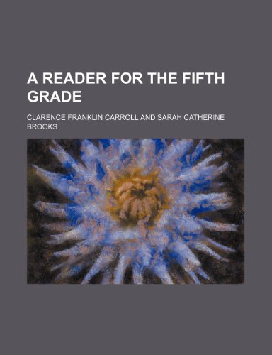 A reader for the fifth grade