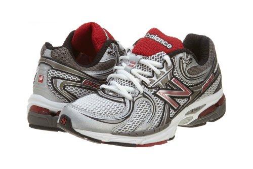 MR860 Running Shoe Red Black Silver 9
