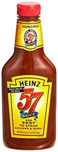 Heinz 57 Sauce, 20-Ounce Squeeze Bottle (Pack of 4)