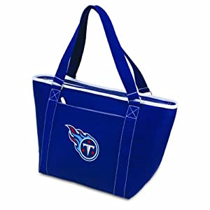 NFL Tennessee Titans Topanga Insulated Cooler Tote, Navy by Picnic Time
