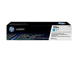 HP Color LaserJet Pro 100 M175A Cyan Toner Cartridge (OEM) 1.000 Pages