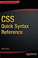 CSS Quick Syntax Reference Front Cover