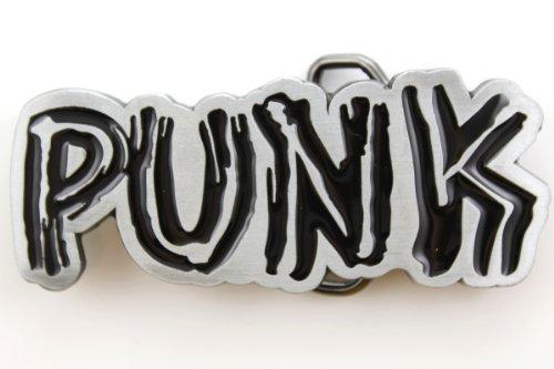 Hogar Mens Zinic Alloy Music Belt Buckle Punk Buckles Color Black