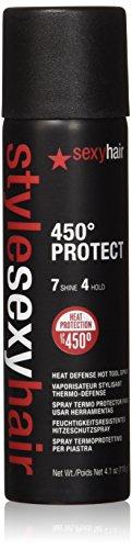 Sexy Hair Style Protect Heat Defense Hot Tool Spray, 4.1 Ounce