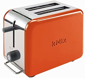 delonghi kmix 2 slice toaster orange delongi toaster kitchen dining. Black Bedroom Furniture Sets. Home Design Ideas