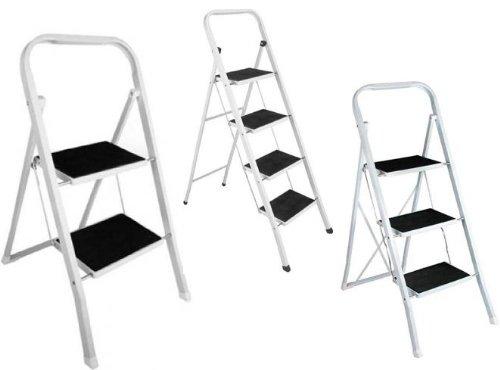 klapptrittleiter pro in 3 gr en zur auswahl 2 stufig hsdfoefnl. Black Bedroom Furniture Sets. Home Design Ideas