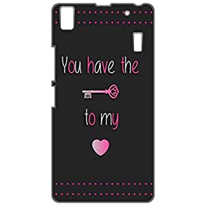 a AND b Designer Printed Mobile Back Cover / Back Case For Lenovo A7000 / Lenovo K3 Note (LEN_A7000_3D_3288)