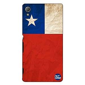 Designer Sony Xperia Z3 Case Cover Nutcase - Vintage Style Flag