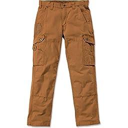 Carhartt Pants Cotton Ripstop, Farbe:carhartt brown;Größe:w 36 / l 32