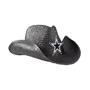 NFL Dallas Cowboys Cowboy Hat, Black by Littlearth