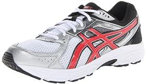 ASICS Men's Gel Contend 2-2E Running Shoe,White/Red/Black,12 2E US