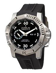 Corum Men's 94795004/O371AN Admirals Cup Deep Hull 48 Black Dial Watch