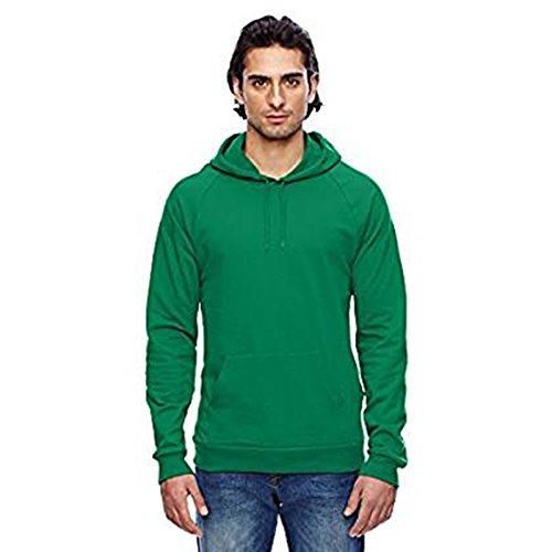 American Apparel -  Felpa con cappuccio  - Uomo Kelly Green Large