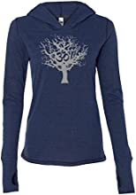 Yoga Clothing For You Ladies Tree of Life Tri-Blend Hoodie
