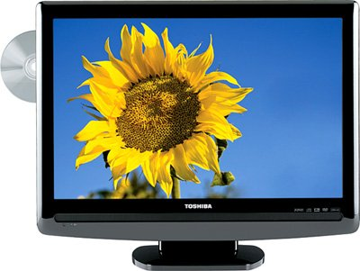 Toshiba TOSHIBA 22LV50K 22IN 720P DVD/LCD TV COMBO (REFURBISHED)