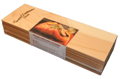 Purchase Cedar Grilling Planks - Extra Long (8 Pack) - Organic Western Red Cedar Wood Planks
