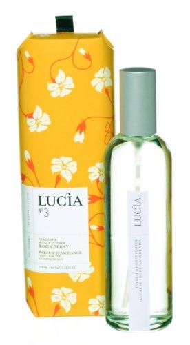 LUCIA Collection ルームスプレー No.3 ティー(茶葉)&ワイルドハニー Tea Leaf&Wild Honey Room Spray ルシア コレクション ピュアリビング Pureliving