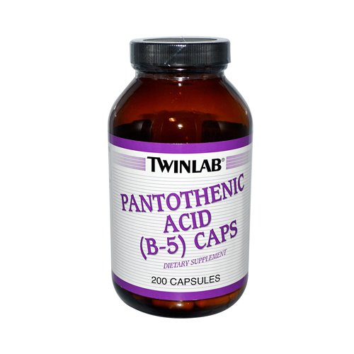 Twinlab Pantothenic Acid B-5 Caps - 500 Mg - 200 Capsules