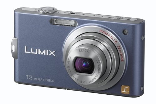 Panasonic Lumix DMC-FX60 Compact Camera ( 12.7 pixels,5 x Optical Zoom,2.7 -inch LCD )