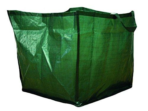Perel Sac de jardin-150L 30x 2x 27cm, vert, PM2005
