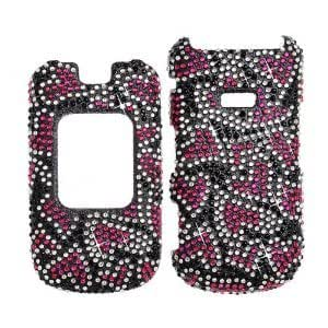 Samsung M260 / Factor 4G Full Diamond Hard Case, Cover, Snap On, Faceplate