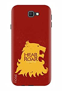 Noise Designer Printed Case / Cover for Samsung Galaxy On Nxt / Patterns & Ethnic / Hear Me Roar Design