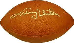 Johnny Unitas Autographed Football