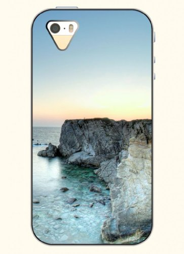 Oofit Phone Case Design With Coast Cliff For Apple Iphone 5 5S 5G front-320046