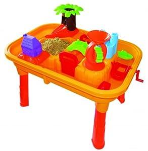 sand und wasser spieltisch mit tischplatte zubeh r spielzeug. Black Bedroom Furniture Sets. Home Design Ideas