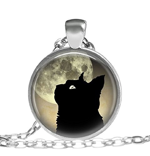 Black-Cat-and-Moon-Art-Pendant-Moon-Jewelry-Pendant-Necklace
