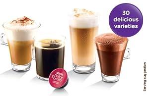 NESCAFÉ Dolce Gusto Oblo Coffee Capsule Machine by Krups - White