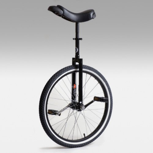 Buy Low Price Club 24 Inch Freestyle Unicycle – Black (UNI-CLUB-24BLK)