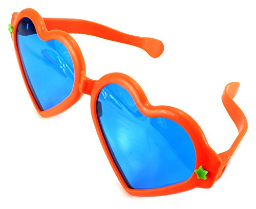 Big Size Jumbo Love Heart Children's Kid's Toy Glasses (Colors May Vary)