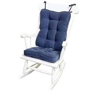 greendale home fashions 5160 denim standard chair rocking. Black Bedroom Furniture Sets. Home Design Ideas