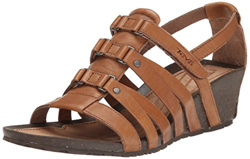Teva Women's Cabrillo Sandal, Tan, 8 M US