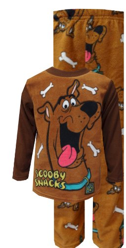 Scooby Doo Scooby Snacks Fleece Pajamas For Boys (4) back-750200