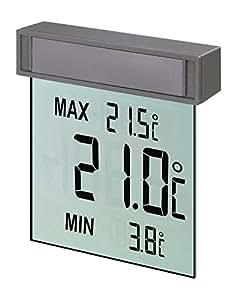 """TFA Dostmann 30.1025 """"Vision"""" / Thermomètre de fenêtre digital"""